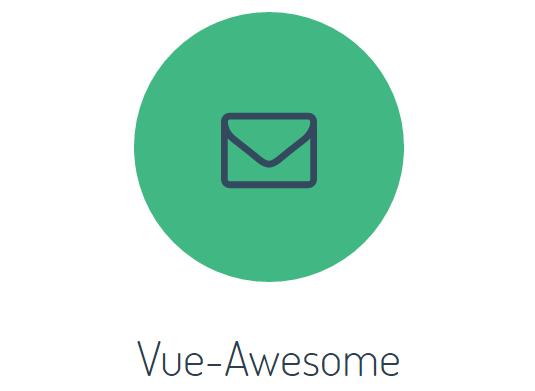 Font Awesome Component For Vue js - Vue js Script