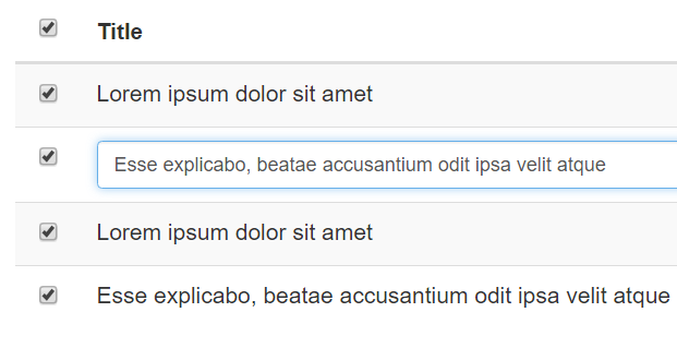 Bootstrap inline text phpsourcecode net for Css inline table