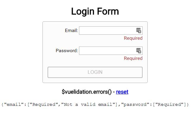 Simple Powerful Vuejs Validation - Vuelidation - Vue Script