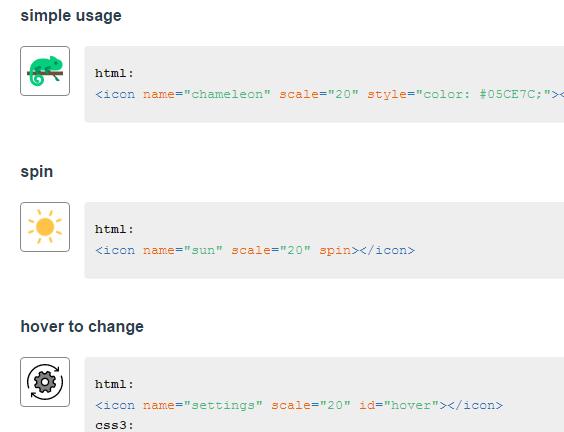 Multicolor SVG Icon In Vue js 2 - Vue js Script