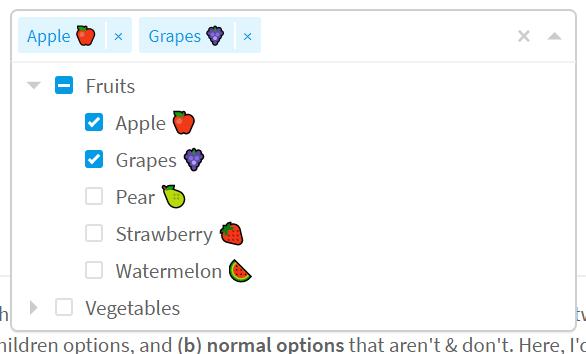 Multi-select Tree Component For Vue js 2-Codespots com