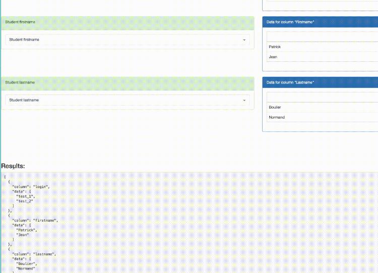 javascript download table as csv