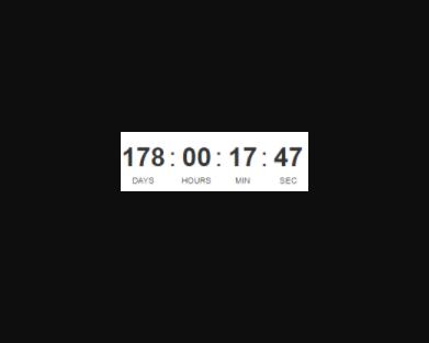 Simple Countdown Timer For Vue js 2 - Vue js Script