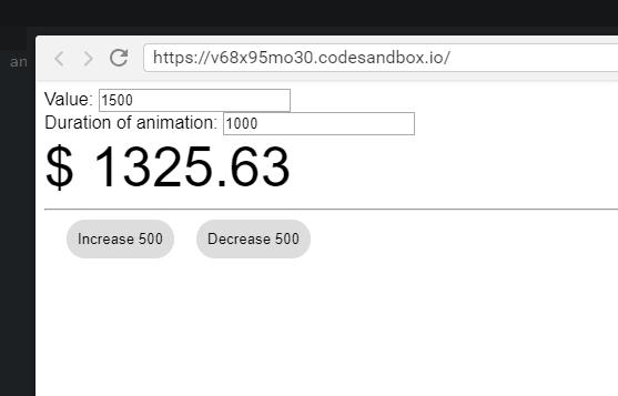 Animate Numbers In Vue js-Codespots com