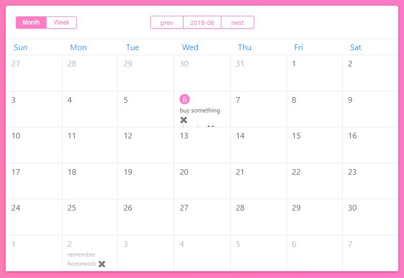 Vue2 Full Calendar Component - Vue js Script