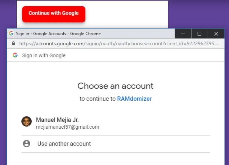Google Sign-In Button Component For Vue js - Vue js Script