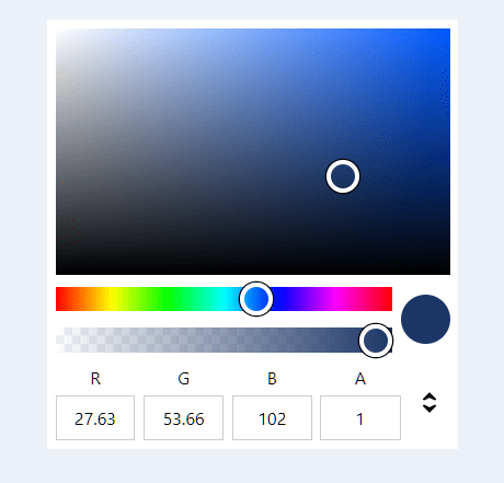 Accessible Color Picker Component For Vue