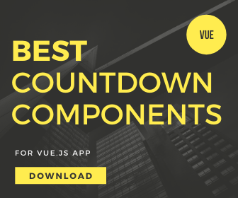 5 Best Countdown Components For Vue.js
