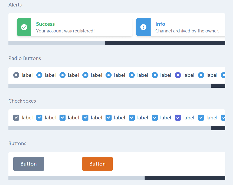 Minimal Dashboard Framework For Vue.js