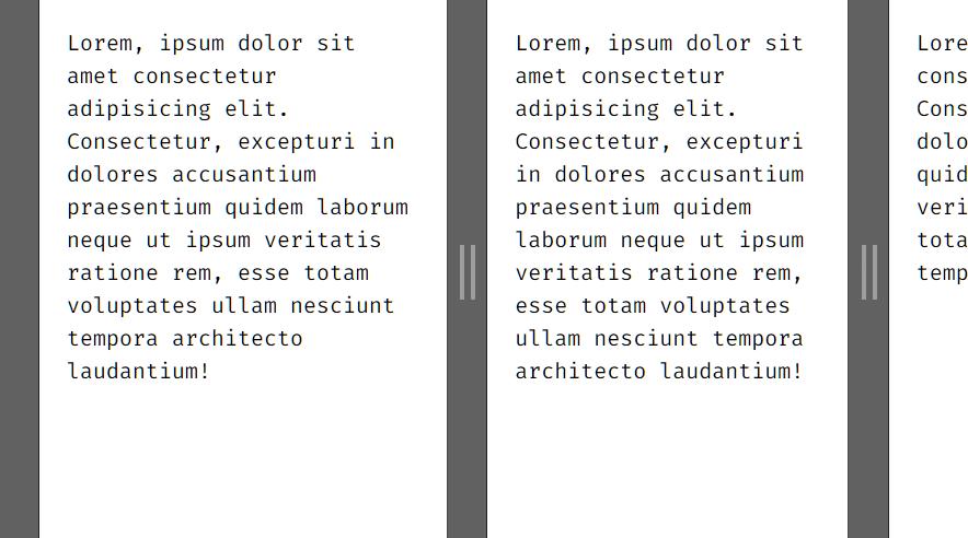 Multi Split View In Vue.js