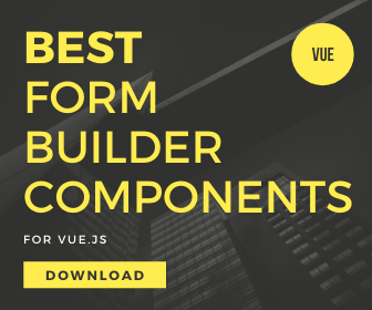 5 Best Form Generator Components For Vue.js